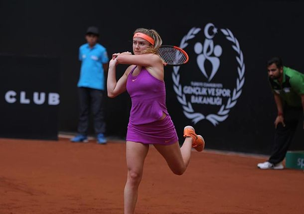 Top-seeded Elina Svitolina Sets Final Clash with Mertens at Istanbul Cup