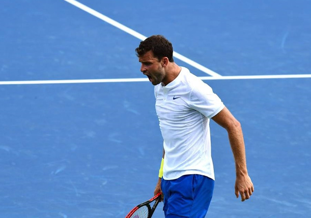 Dimitrov Downs Depleted Del Potro