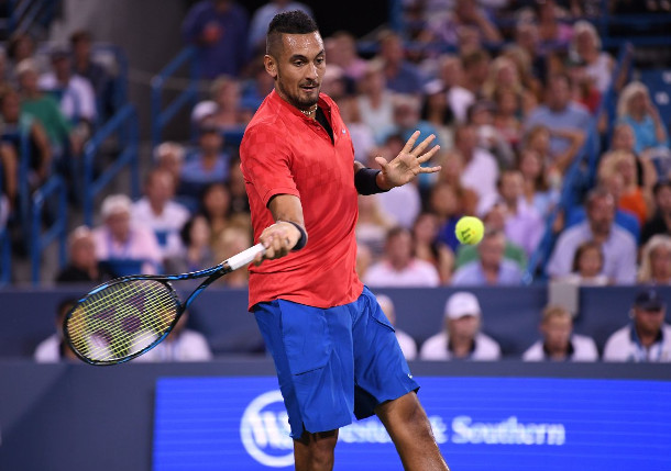 Kyrgios Conquers Nadal, Rolls Into Semifinals
