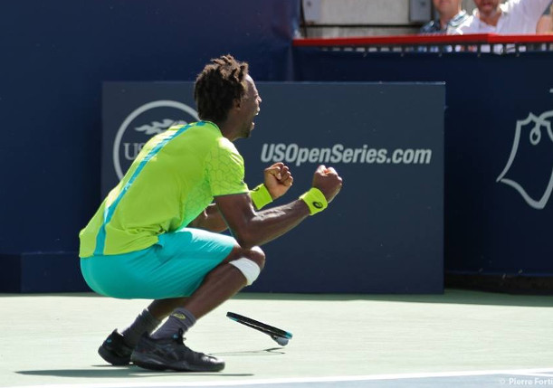 Monfils Saves Four Match Points, Stuns Nishikori