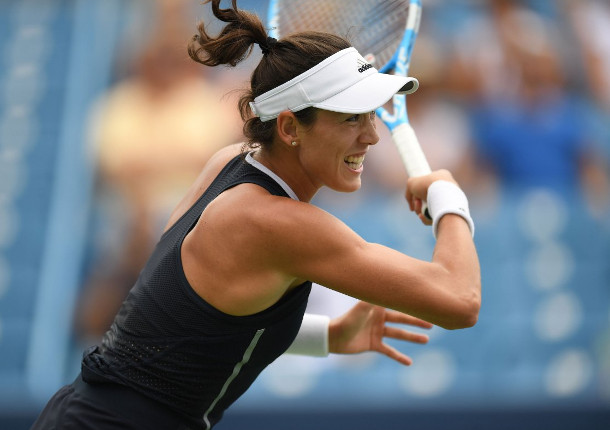 Muguruza Powers Past Pliskova Into Cincinnati Final