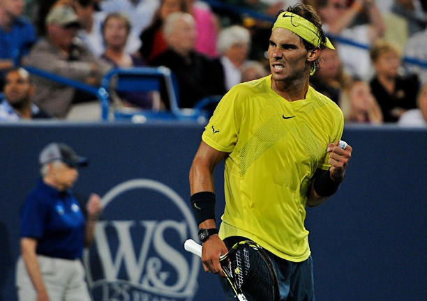Nadal Rolls Gasquet For 15th Time in Cincinnati