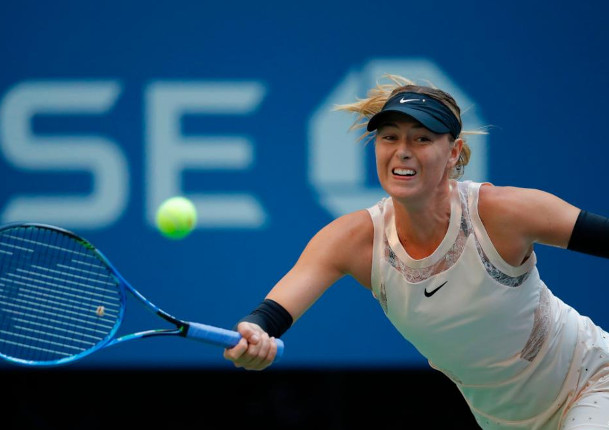 Sharapova Sees Open Opportunity
