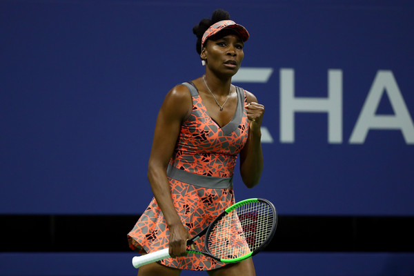 Birth and Rebirth As Venus Rolls Into US Open Fourth Round