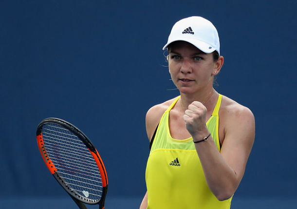 Halep Survives Tussle with Aiava, but Ankle Causes Concern