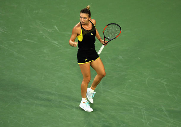 Halep Stays in Hunt for No.1 with Win over Konta