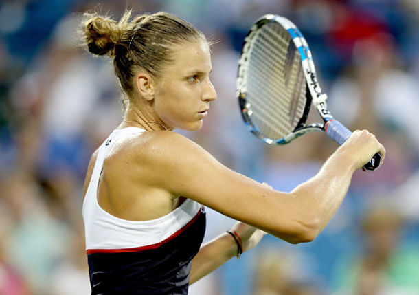 Defending Champ Pliskova Moves into Cincy Quarterfinals