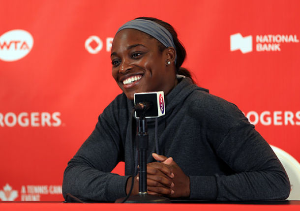 Sloane Stephens Continues Surprising Ascent in Toronto