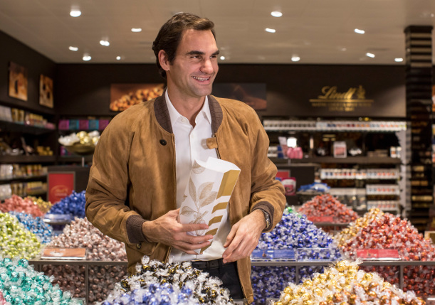 Watch: Federer Launches Chocolate Museum