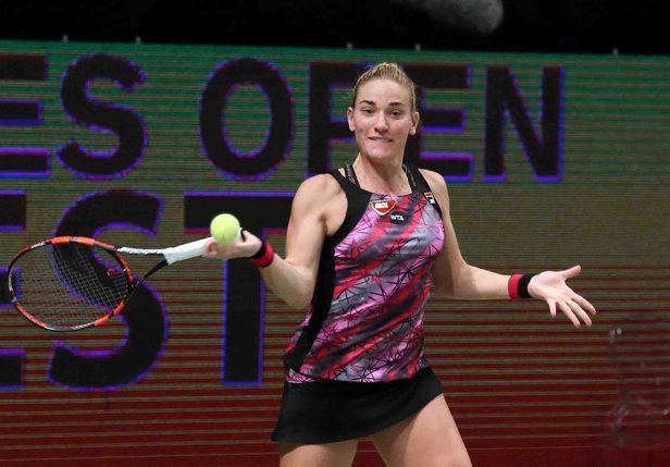 Babos Wins Budapest Crown