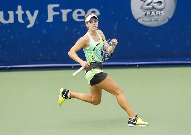 Bellis Stuns Radwanska, Reaches Dubai Quarterfinals