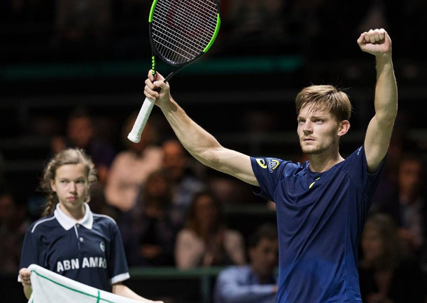 Goffin Subdues Dimitrov, Into Rotterdam Semifinals