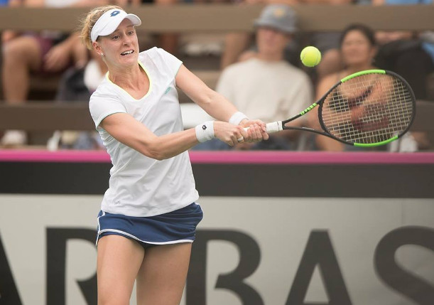 Riske Tops Petkovic in Fed Cup Opener