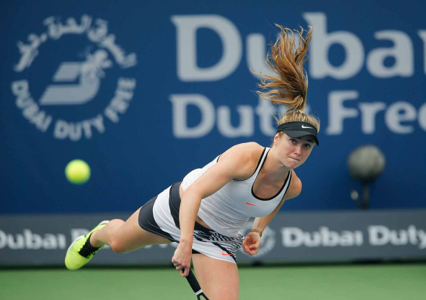 Svitolina Stops Kerber, Advances To Dubai Final