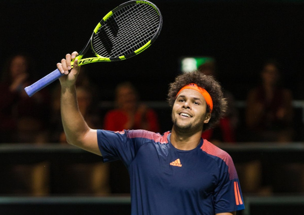 Tsonga Subdues Goffin in Rotterdam For 13th Title