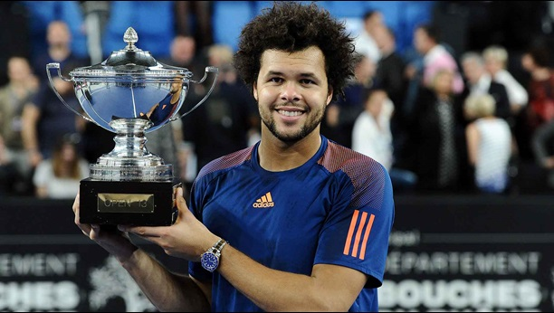 Tsonga Wins Marseille For Second Title in Two Weeks