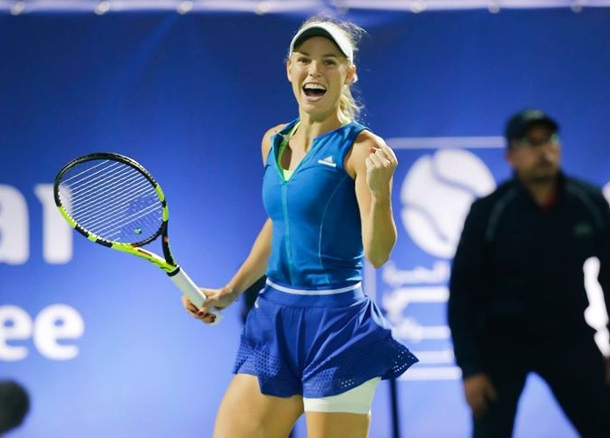 Wozniacki Rolls Into Second Straight Final In Dubai
