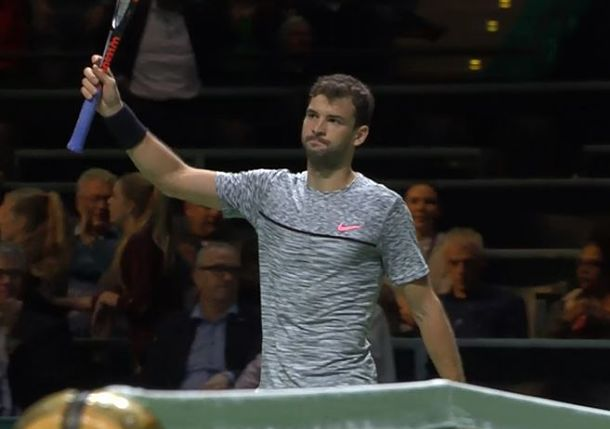 Dimitrov Stays Red-Hot in Rotterdam