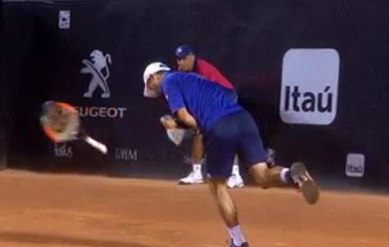 Watch: Nishikori Smashes a Racquet in Style in Rio