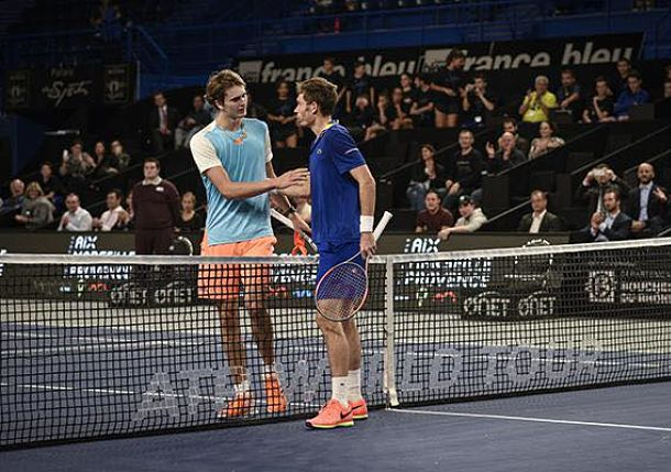 Mahut Tops No.5-seeded Zverev in Marseille