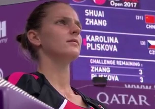 Double Duty No Problem for Surging Pliskova in Doha
