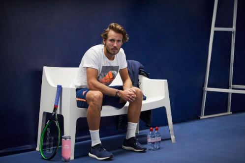 Pouille Joins Sharapova and Wawrinka as Evian Brand Ambassador