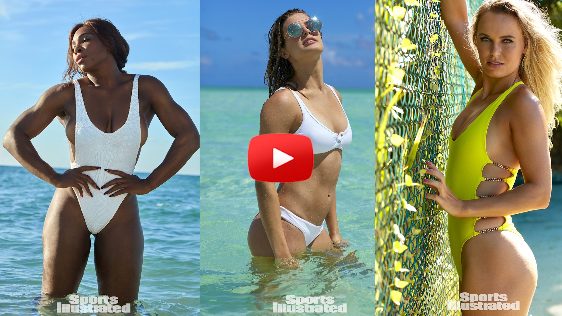 Serena Stars In SI Swimsuit Issue-Stars In Swimsuits