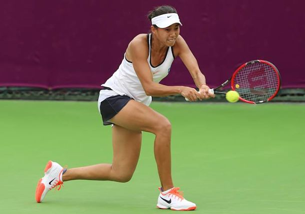Cibulkova, Zhang Reach Quarterfinals in Doha