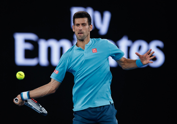 Djokovic Flies Through AO First Round Test