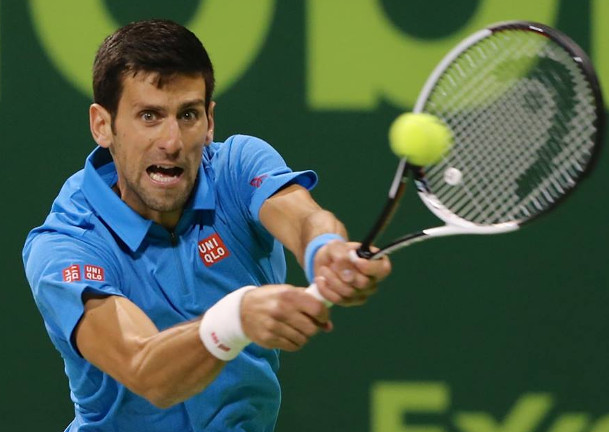 Djokovic Tames Tricky Stepanek in Doha