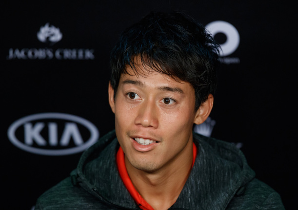 Nishikori on Challenge For Asian Players
