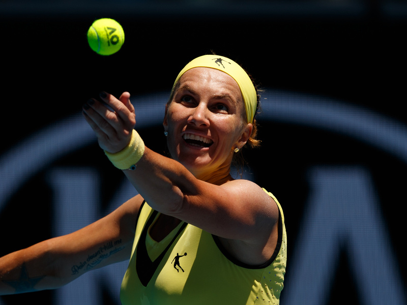 Kuznetsova Endures Against Jankovic in Three Set Drama