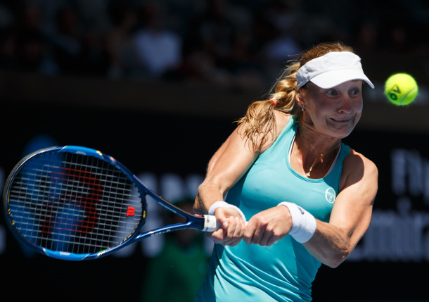 Makarova Subdues Cibulkova in Wild AO Win