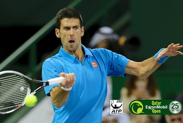 Djokovic Fights Off Five Match Points, Reaches Doha Final