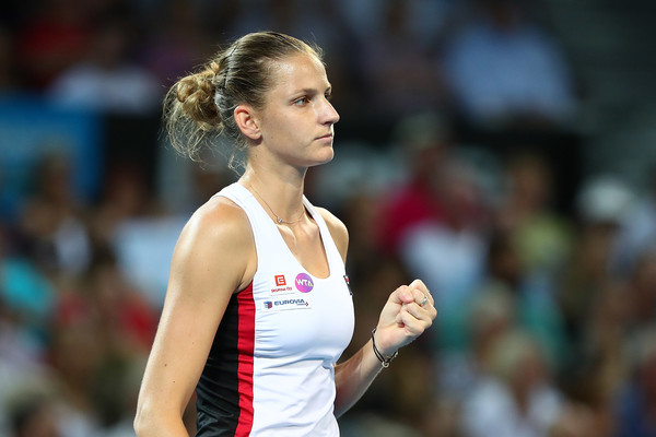 Pliskova Races Past Cornet to Win Brisbane Title
