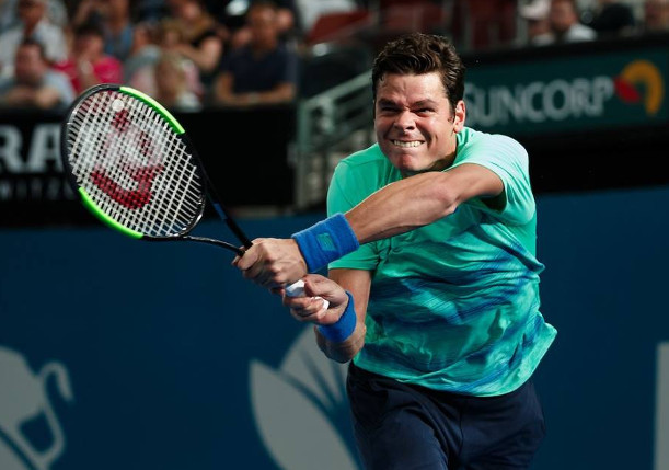 Raonic out of Cincy with Injured Wrist