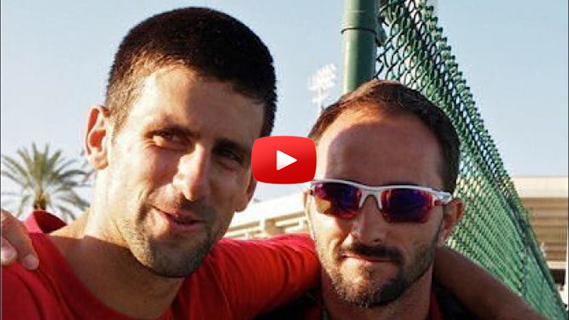 Novak Djokovic's New Coach-Roger Federer Bongo Battle