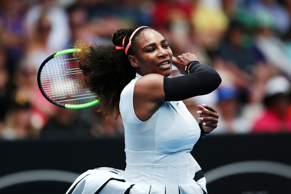 Serena Williams Auckland First Round