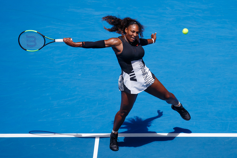 Serena Relies on Plan B In Overcoming Strycova