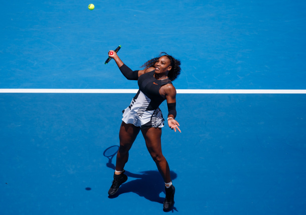 Serena Storms Into AO Fourth Round