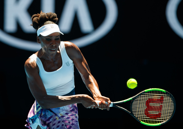 Venus Tops Voegele, Into AO Third Round
