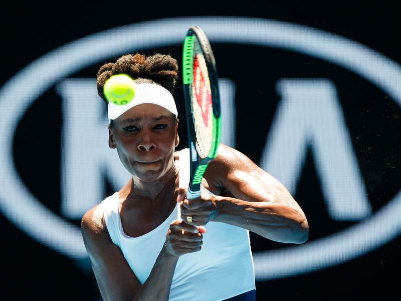 Venus Delights in Opening Round Win and Interview