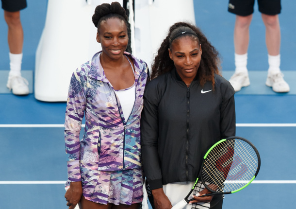 Serena Recalls First-Ever Meeting With Venus
