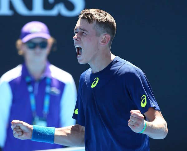 De Minaur claims his first major victory