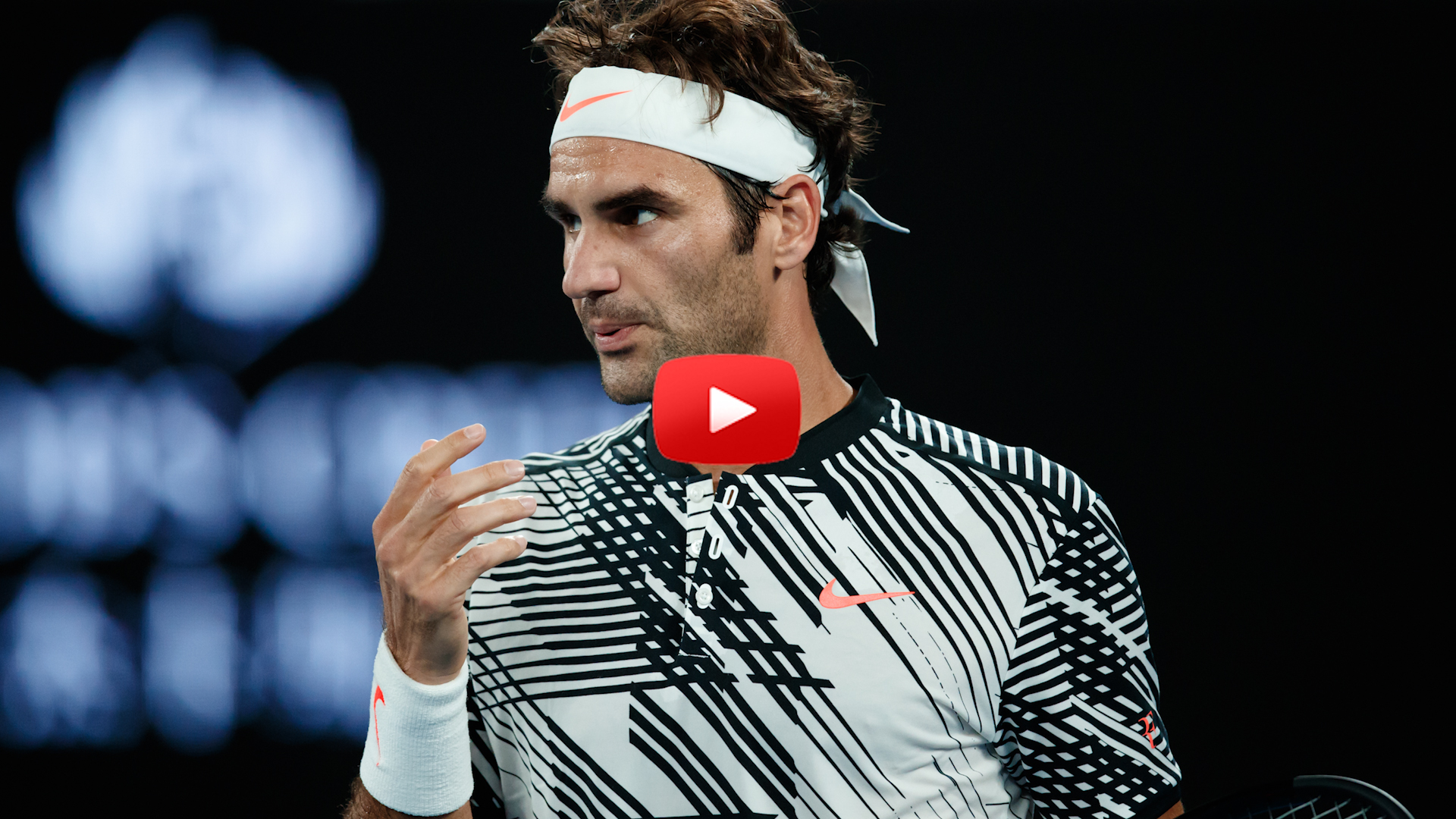 Federer's Winning Return-Most Painful Shot-Knockout Challenge
