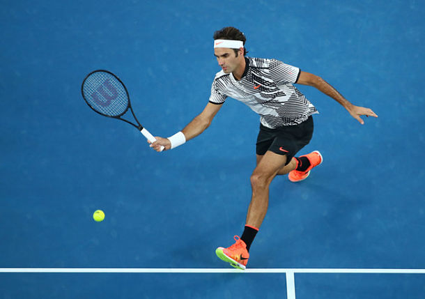 Djokovic, Federer in Packed Lower Half of Australian Draw