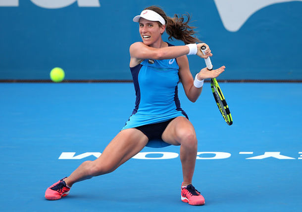 Konta in Crush Mode, to Face Radwanska in Sydney Final