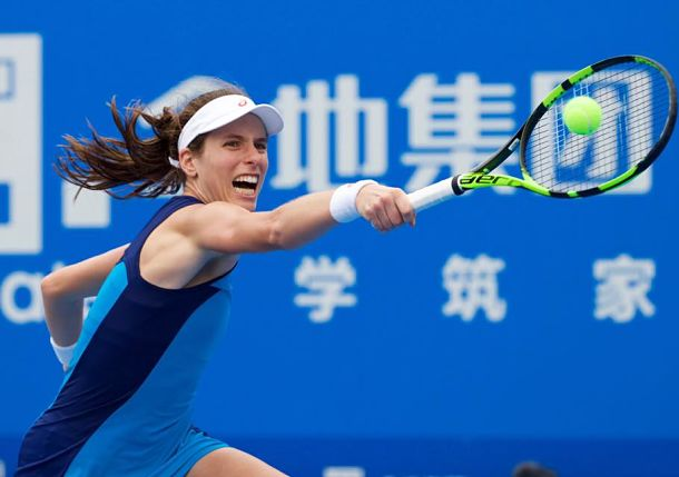Konta Survives as Radwanska Falls in Shenzhen