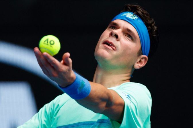 No Dip for Raonic Despite Flu