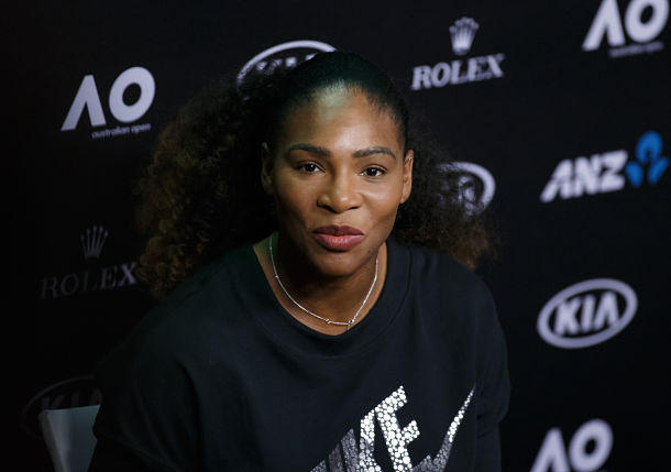Hungry for major success, Serena Williams won't let engagement sink in